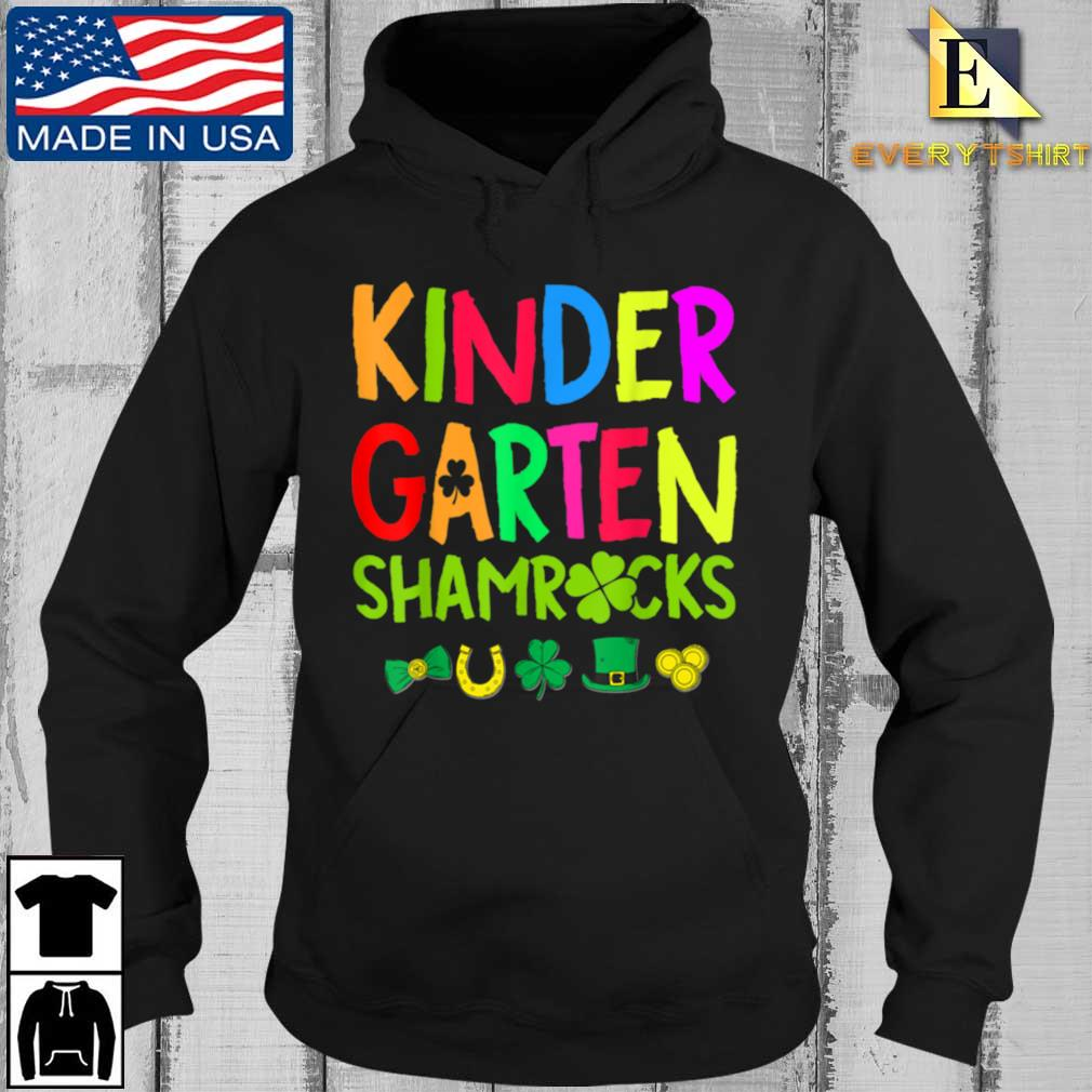 Kindergarten Shamrocks St Patrick's Day Shirt Every Hoodie den