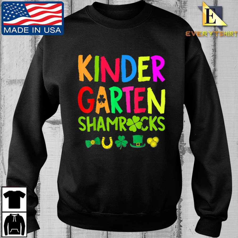 Kindergarten Shamrocks St Patrick's Day Shirt