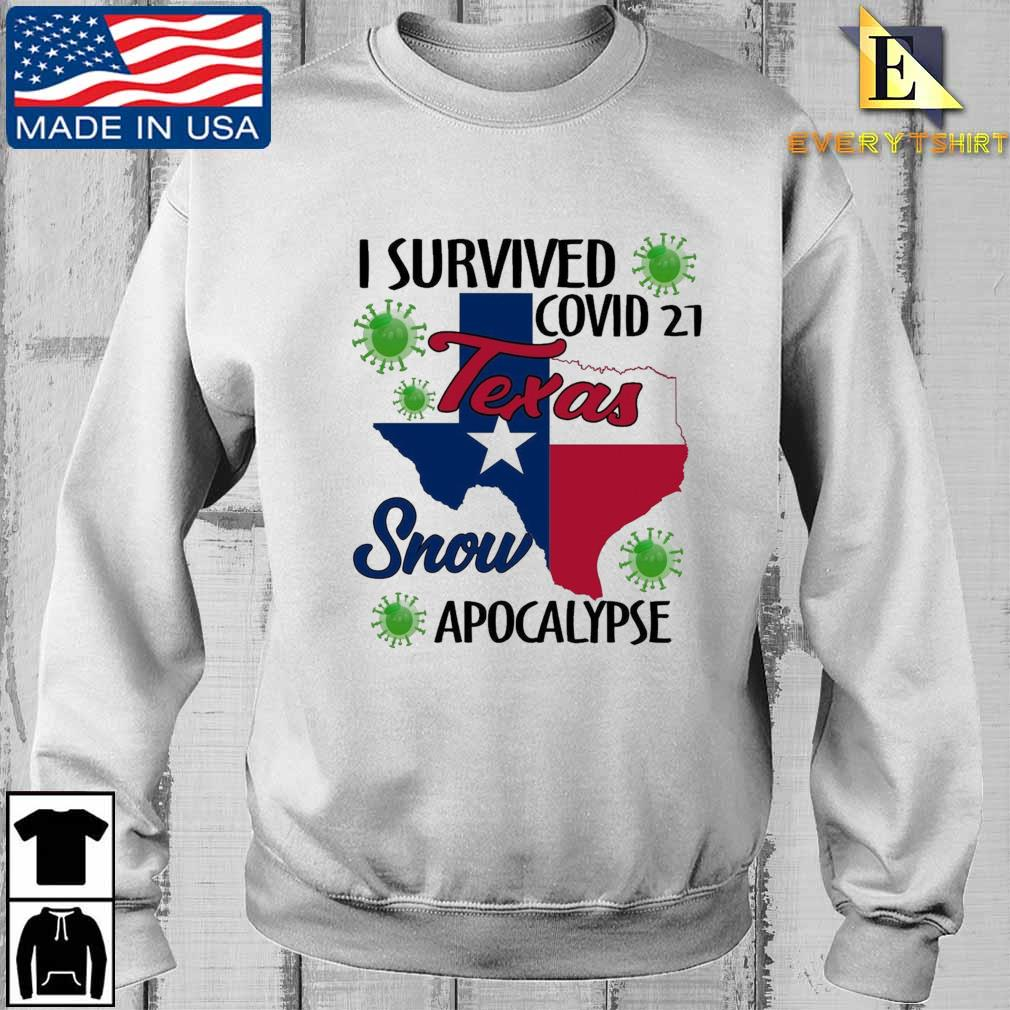 I survived Covid-21 snow apocalypse Texas shirt