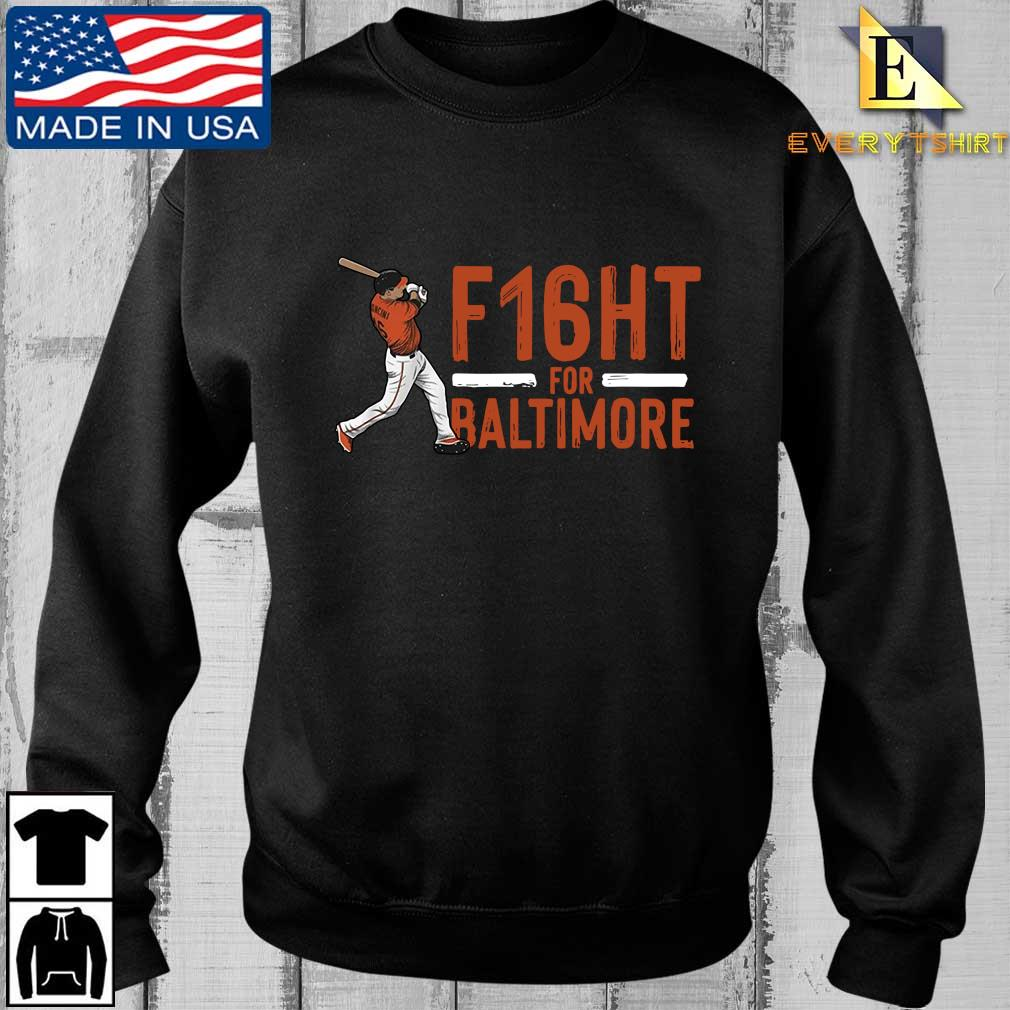 Trey Mancini F16HT for Baltimore shirt