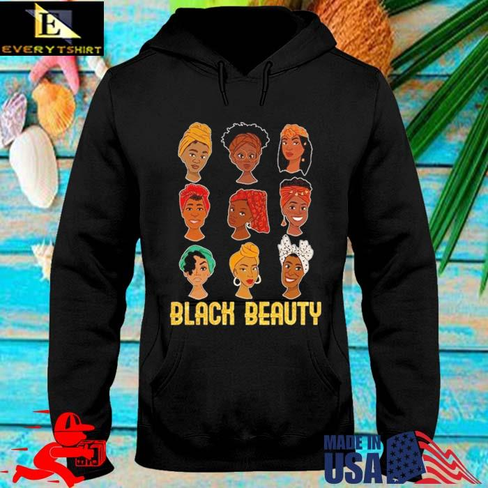 Black Beauty African Melanin Women Shirt hoodie den