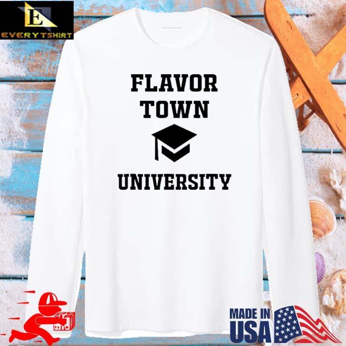 Flavortown University Solar Opposites Meme Gag Shirt long sleve trang