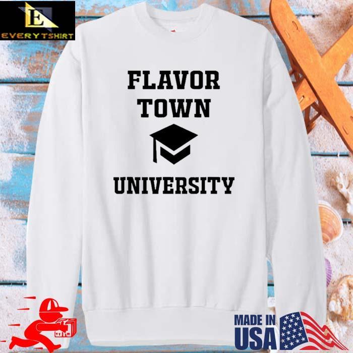 Flavortown University Solar Opposites Meme Gag Shirt sweater trang