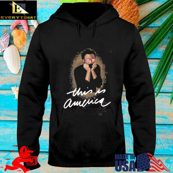 This Is America Pro Black Shirt hoodie den