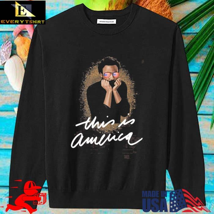 This Is America Pro Black Shirt sweater den
