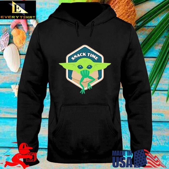 Star Wars Baby Yoda Mandalorian The Child Snack Time Shirt hoodie den