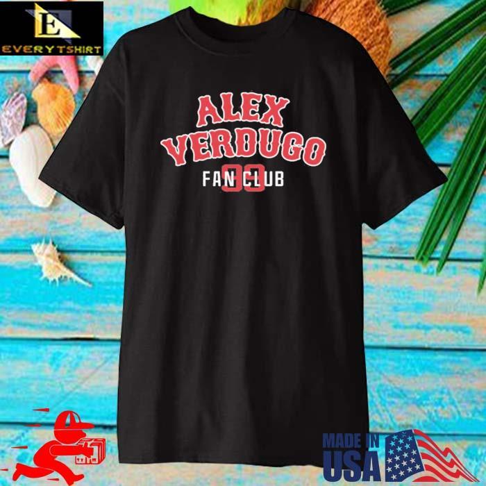 Alex verdugo fan club 99 steve perrault alex verdugo fan club 99 shirt