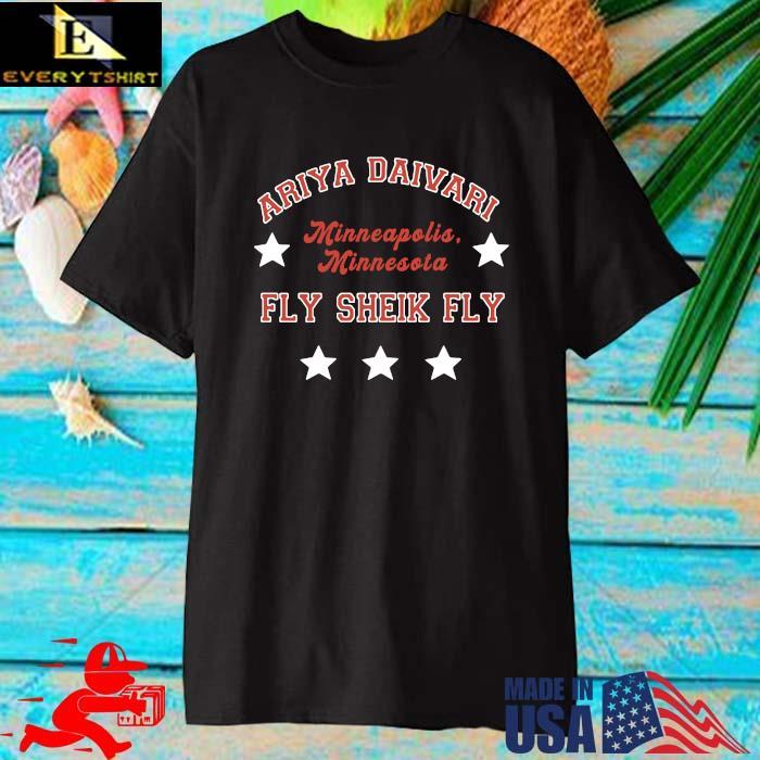 Ariya Daivari Minneapolis Minnesota Fly Sheik Fly Shirt