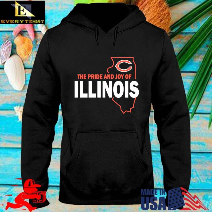 Chicago Bears The Pride And Joy Of Illinois Shirt hoodie den