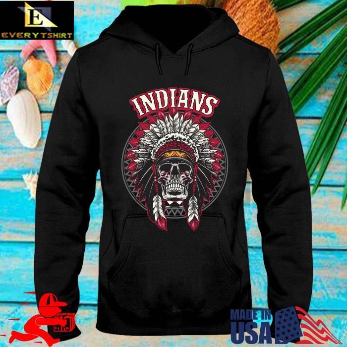 Cleveland Indians Skull Native America Shirt hoodie den