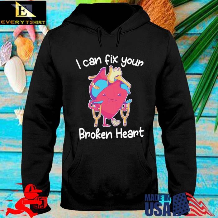 Dr deepak krishnamurthy I can fix broken heart themanan merch broken heart s hoodie den