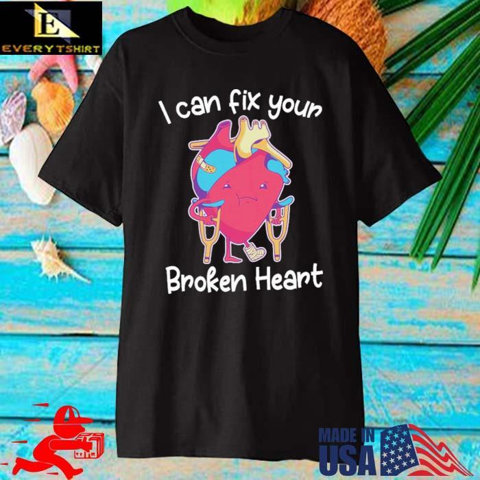 Dr deepak krishnamurthy I can fix broken heart themanan merch broken heart shirt