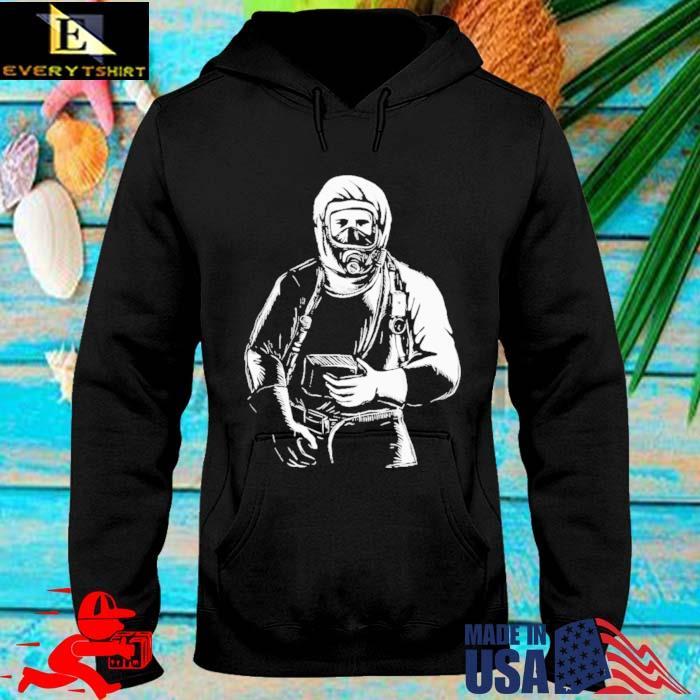 Emt wearing hazmat suit s hoodie den