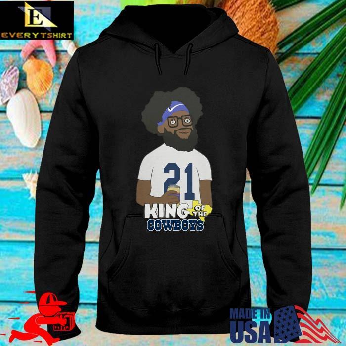 Ezekiel Elliott King Of The Cowboys Shirt hoodie den