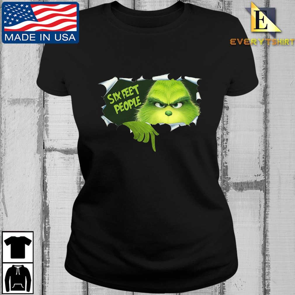 Blood inside Me The Grinch Six Feet People Shirt Every ladies den