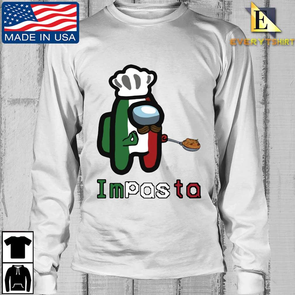 Chef Impasta Impostor Among Us Sweater Longsleeve Every trang