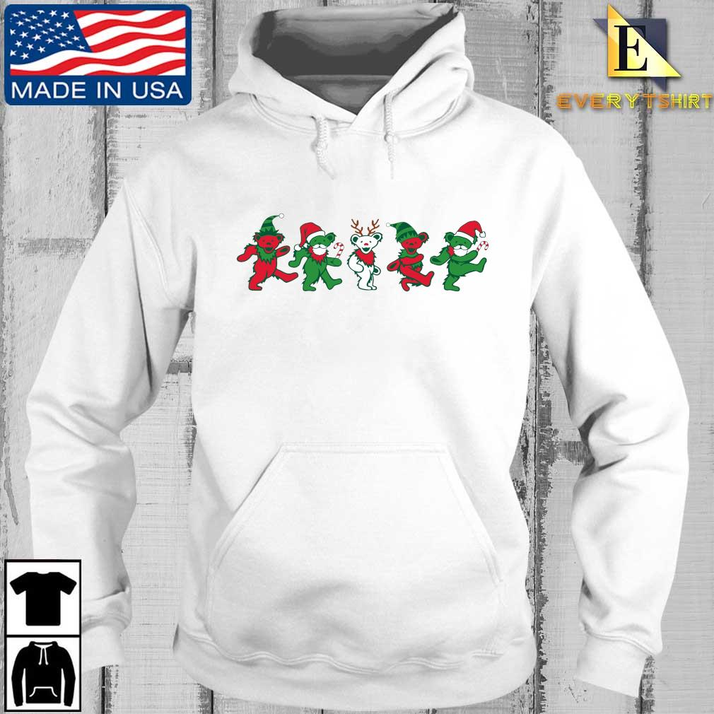 Grateful Dead Dancing Bears Christmas Sweater Every hoodie trang