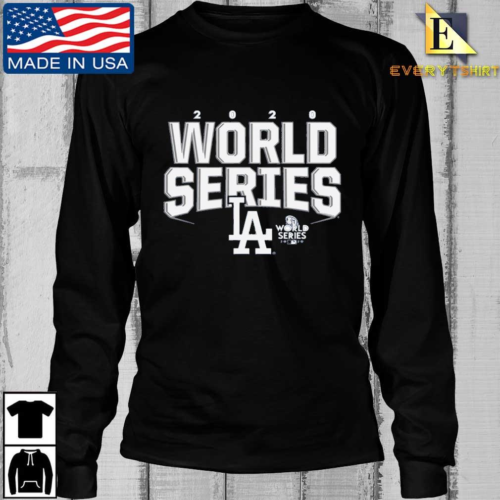 Los Angeles Dodgers 2020 World Series Champions Shirt Longsleeve Every den