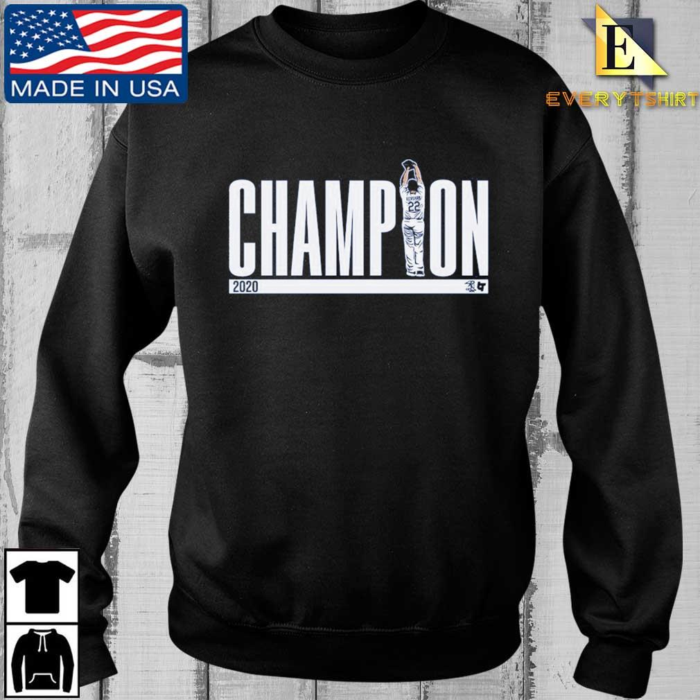 Los Angeles Dodgers Clayton Kershaw Champions 2020 Shirt