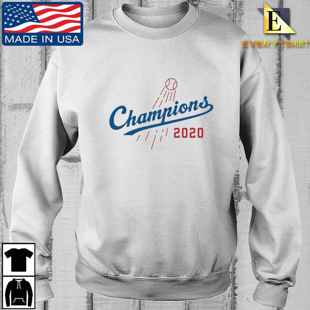 Los Angeles Dodgers MLB 2020 Champions Baseball Shirt