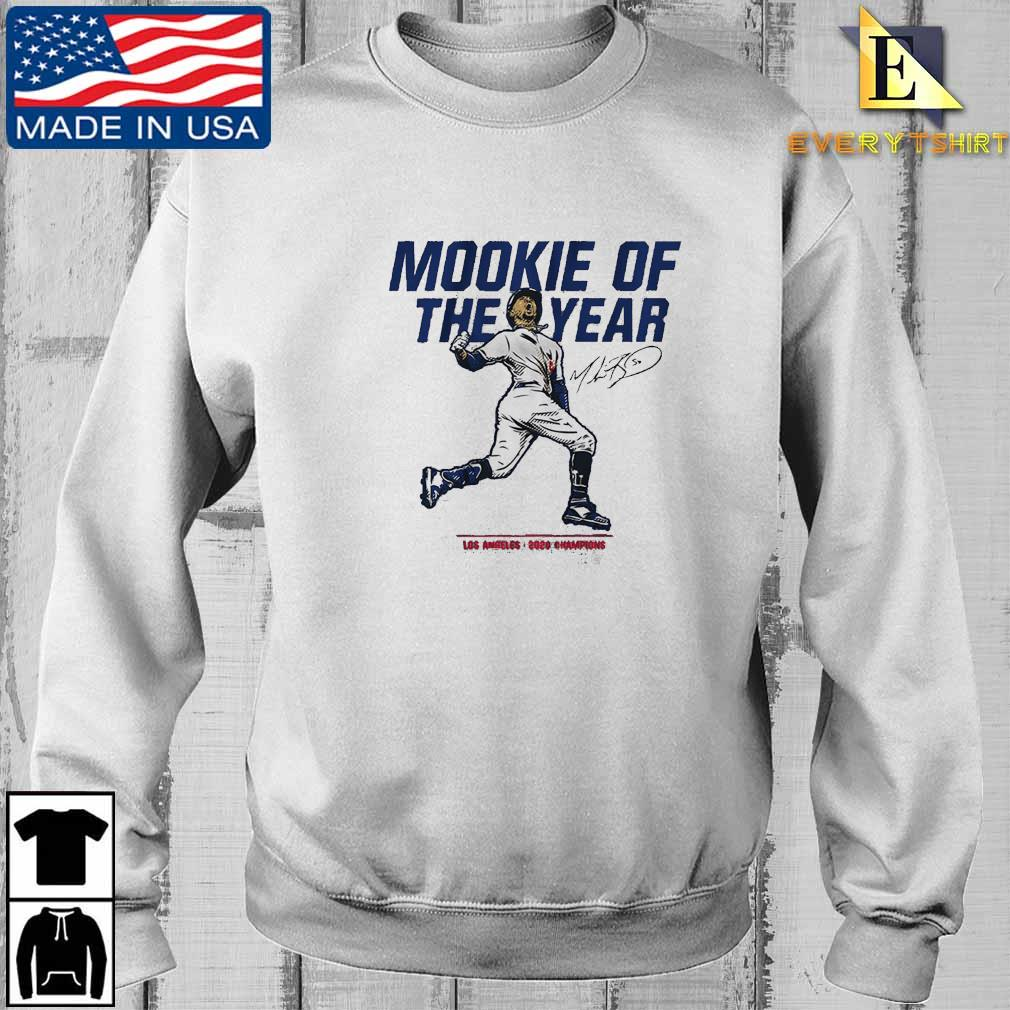 Los Angeles Dodgers Mookie Betts of the year 2020 Champions signature shirt