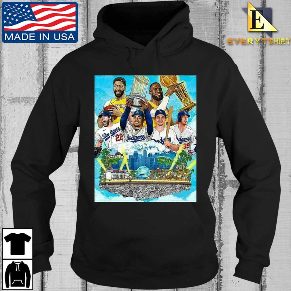 Los Angeles Lakers And Los Angeles Dodgers Champions 2020 Player Shirt Every Hoodie den