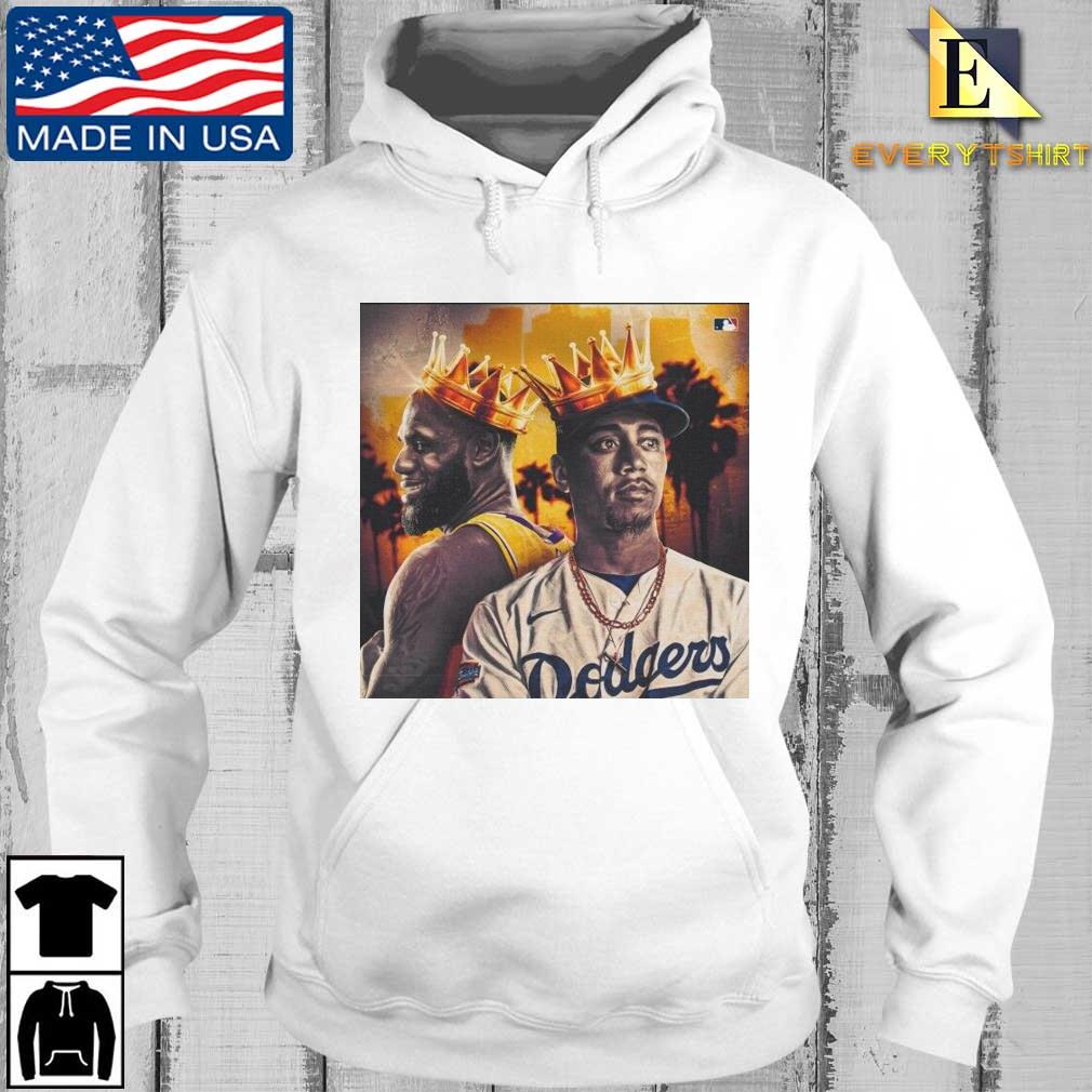 Los Angeles Lakers Kobe Bryant and Los Angeles Dodgers Mookie Betts Shirt Every hoodie trang