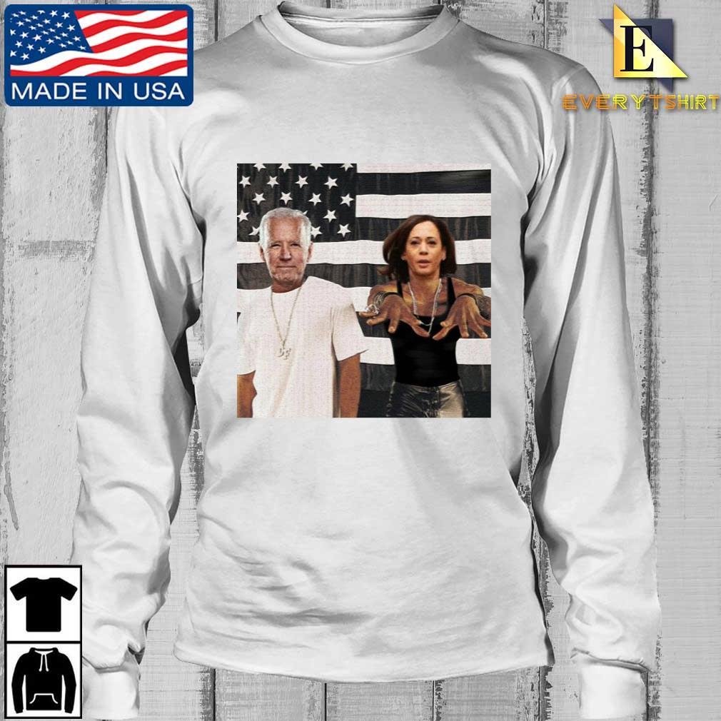 Outkast Stankonia Biden Harris American flag Shirt Longsleeve Every trang