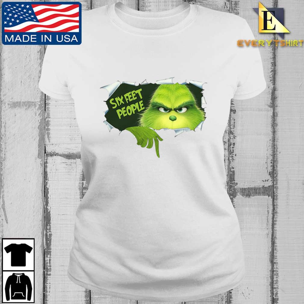 The Grinch Six Feet People Shirt Every ladies trang