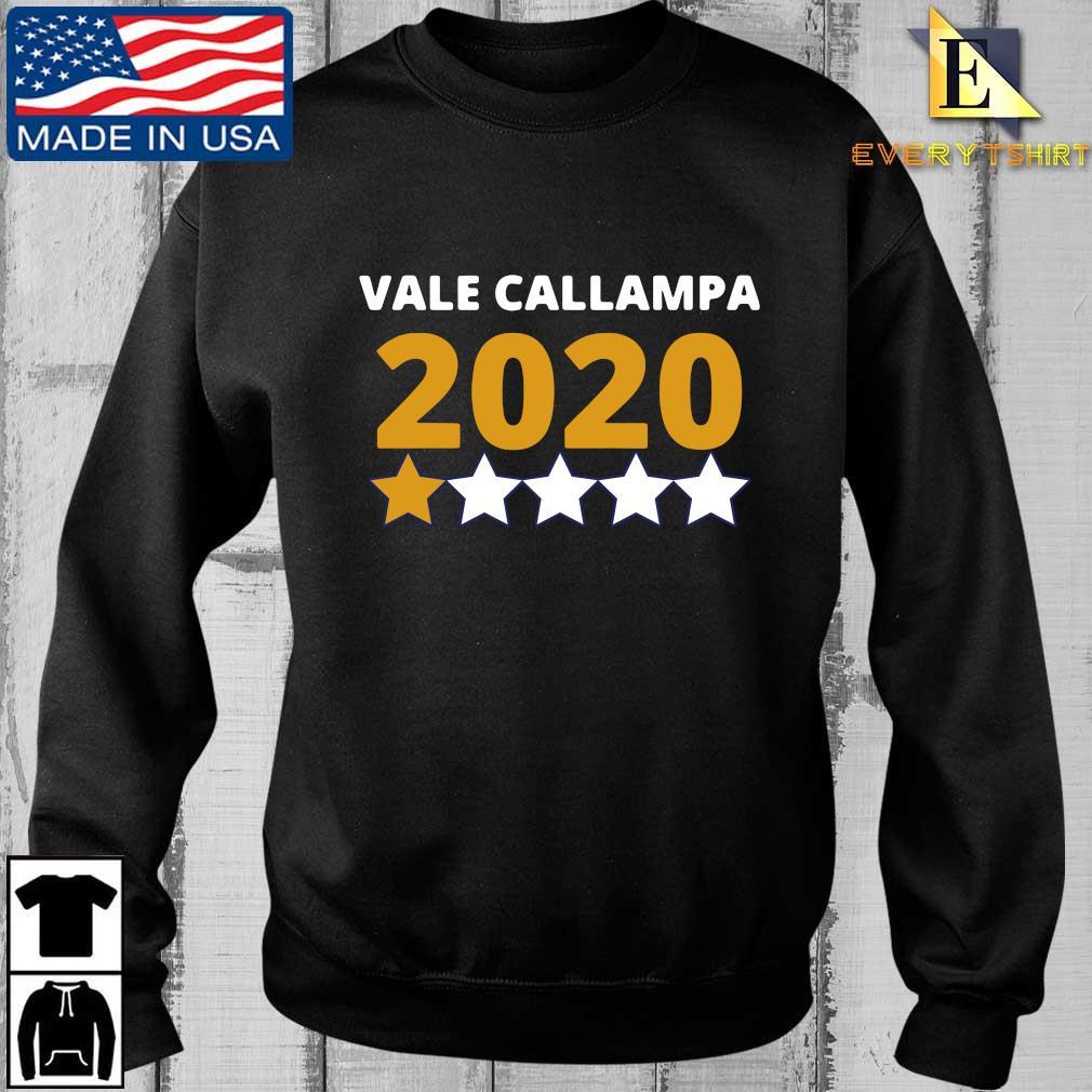 Vale callampa 2020 one star shirt