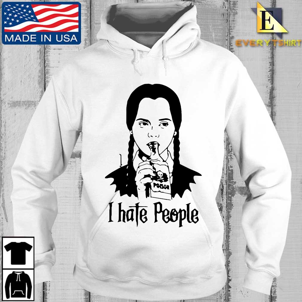 Wednesday Addams I hate people s Every hoodie trang