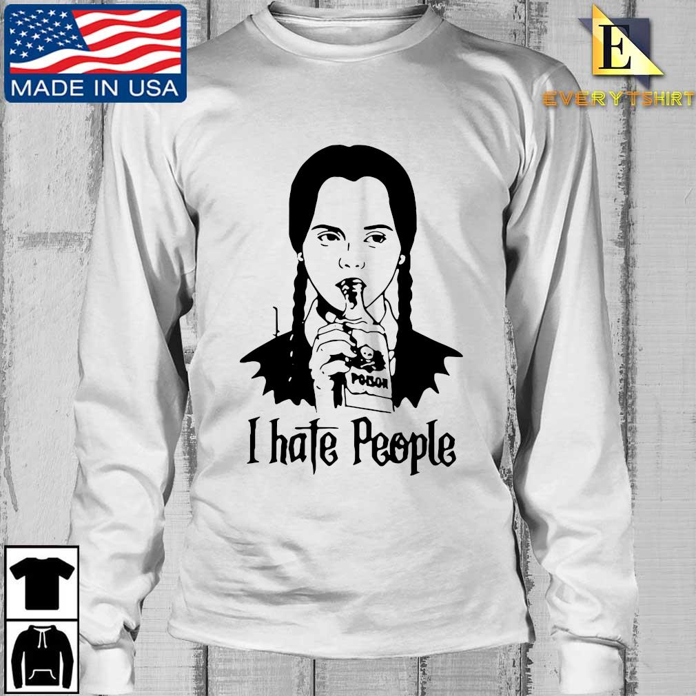 Wednesday Addams I hate people s Longsleeve Every trang