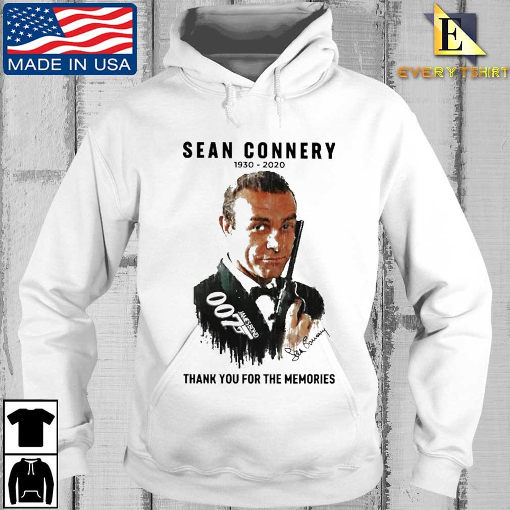 007 Sean Connery thank you for the memories signature s Every hoodie trang