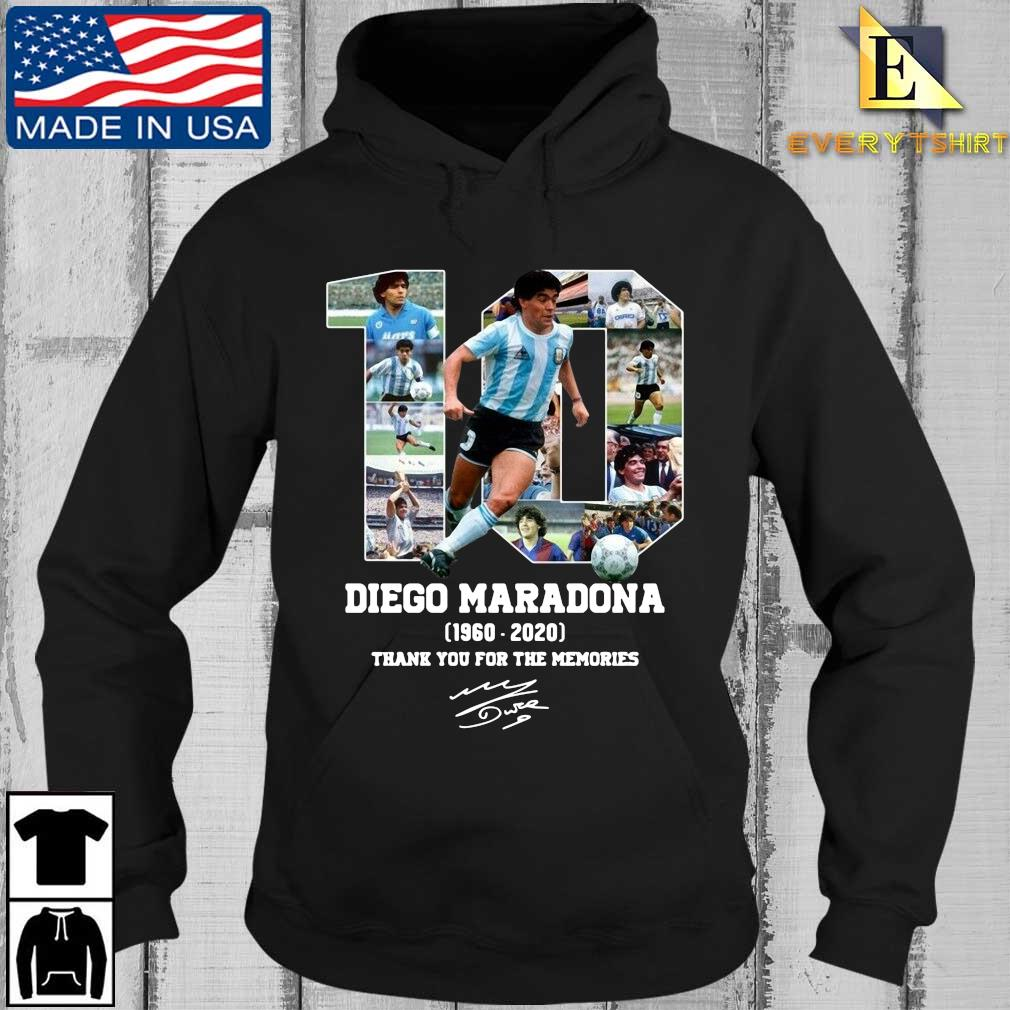 10 Diego Maradona 1960 2020 signature thank you for the memories s Every Hoodie den
