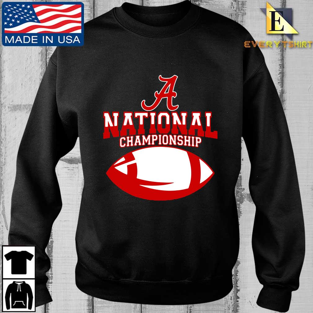 Alabama Crimson national championship shirt