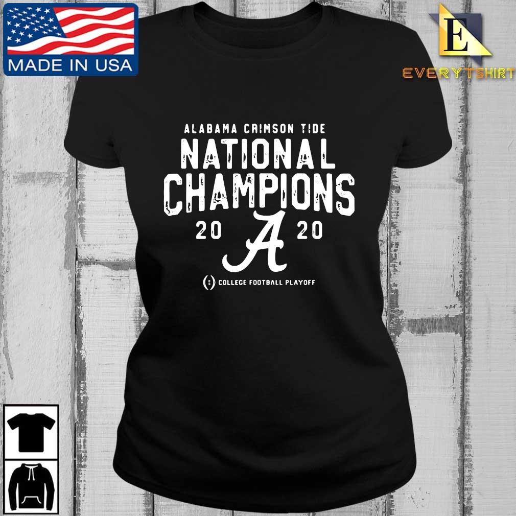 Alabama Crimson Tide national Champions 2020 college football playoff s Every ladies den