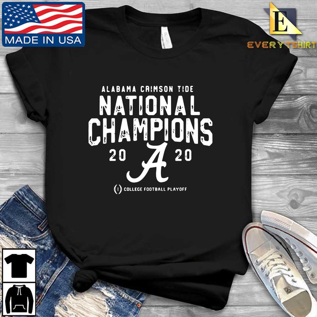 Alabama Crimson Tide national Champions 2020 college football playoff s Every shirt den dai dien