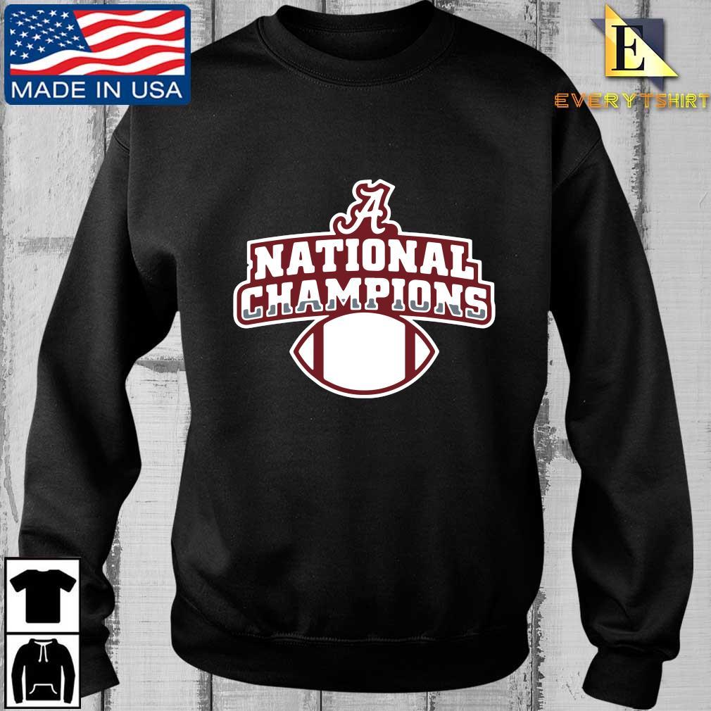 Alabama Crimson Tide national Champions t-shirt