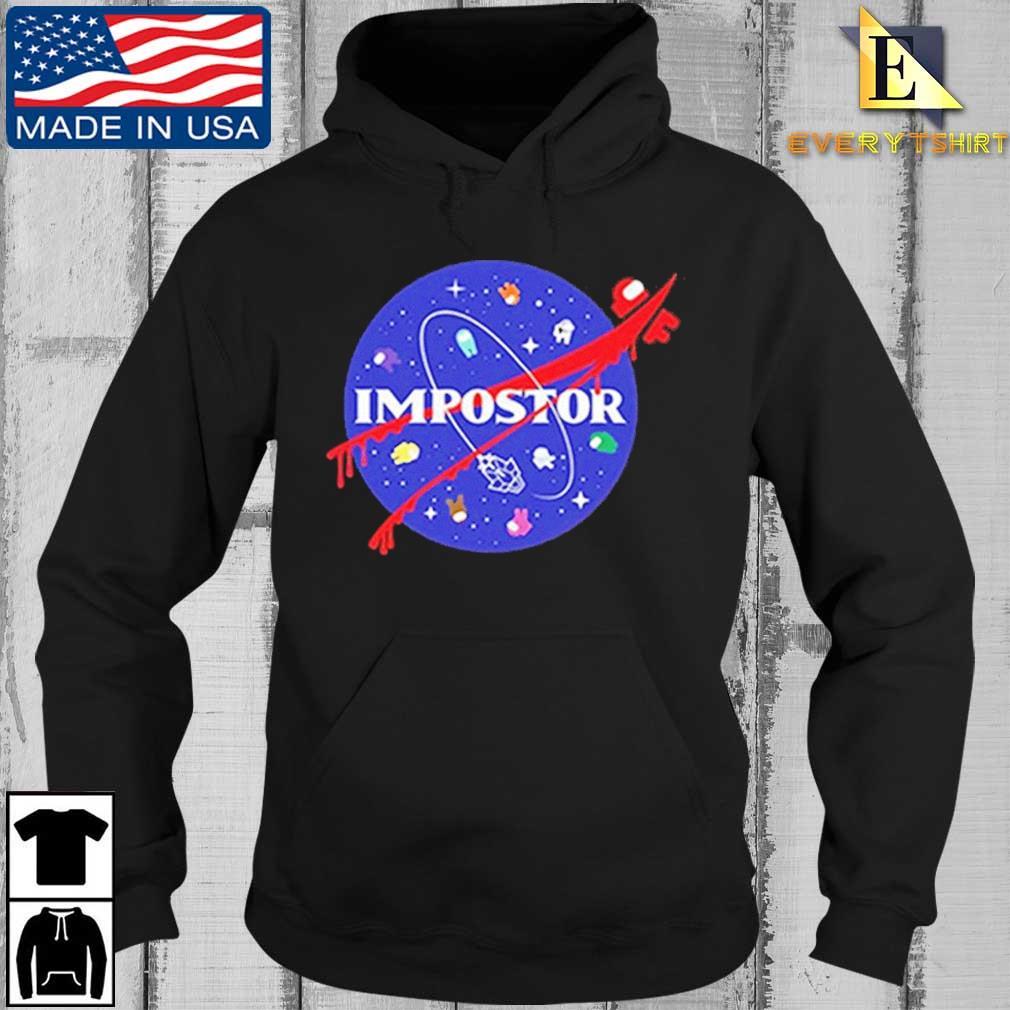Among Us Impostor Nasa Shirt Every Hoodie den