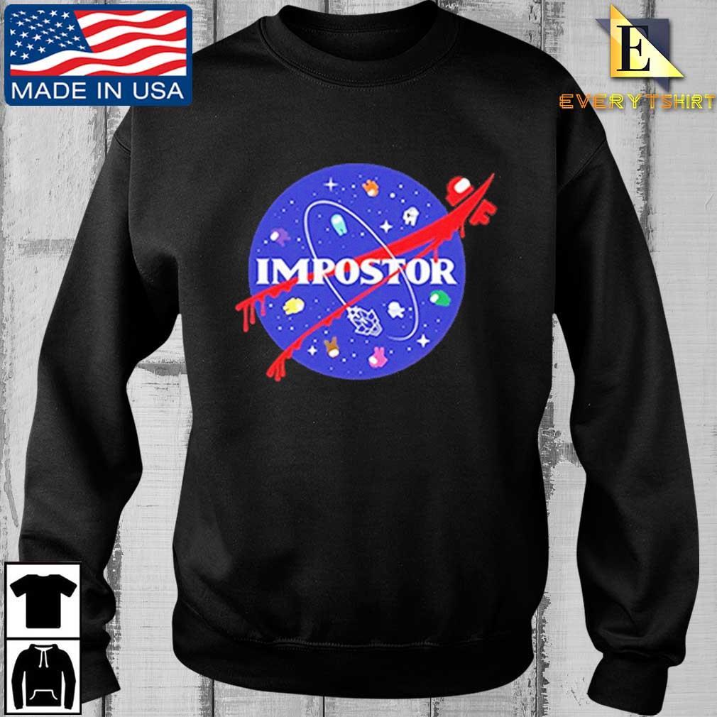 Among Us Impostor Nasa Shirt