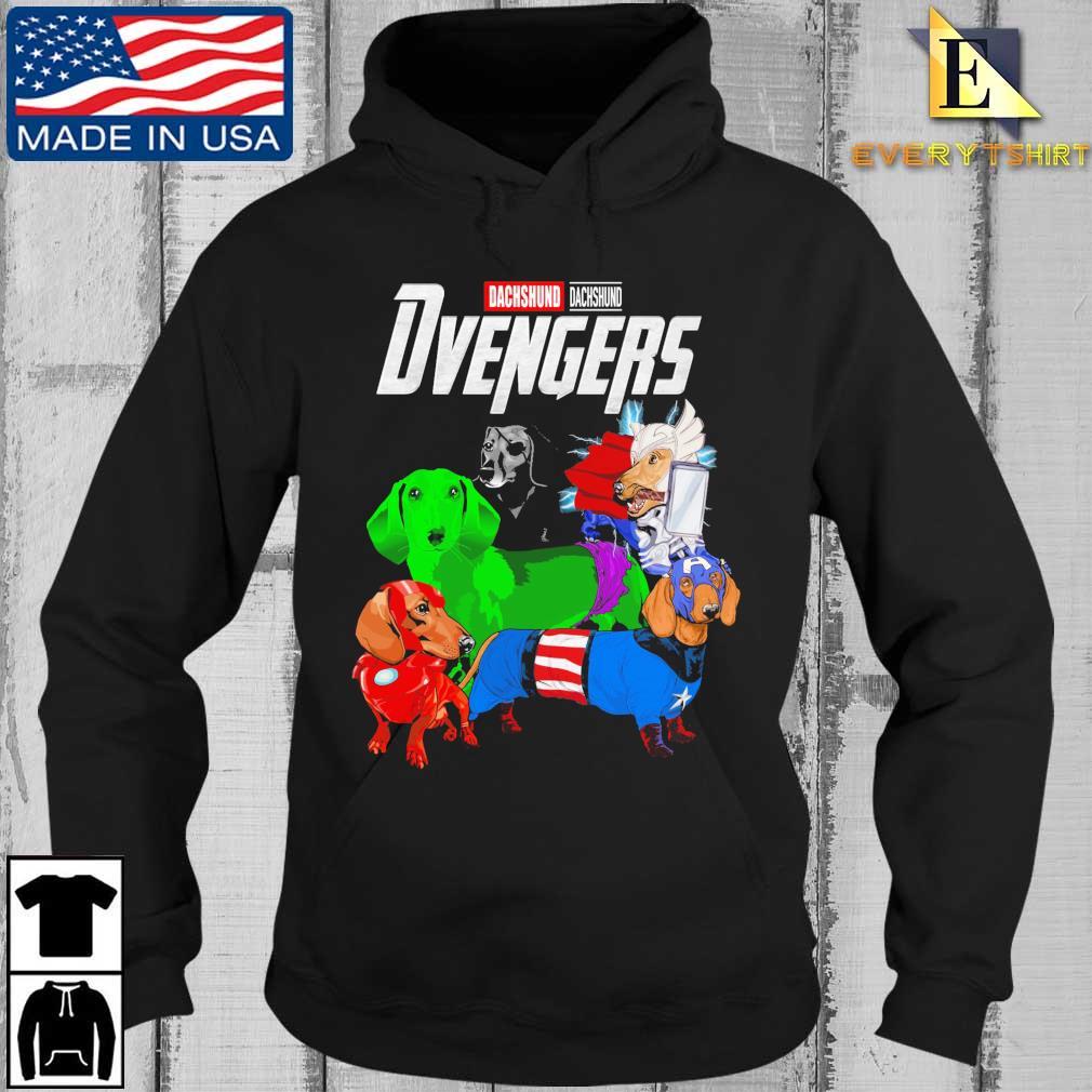 Avengers Dachshund Dvengers s Every Hoodie den
