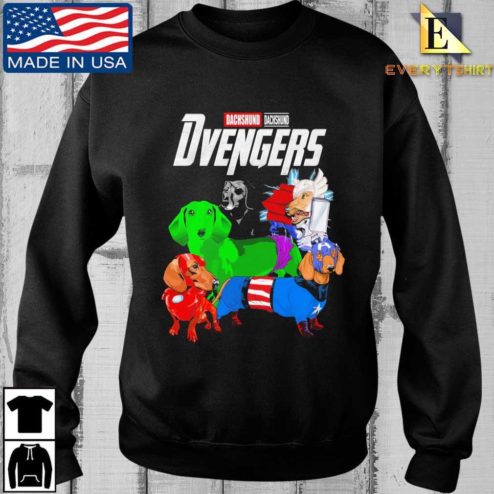 Avengers Dachshund Dvengers shirt