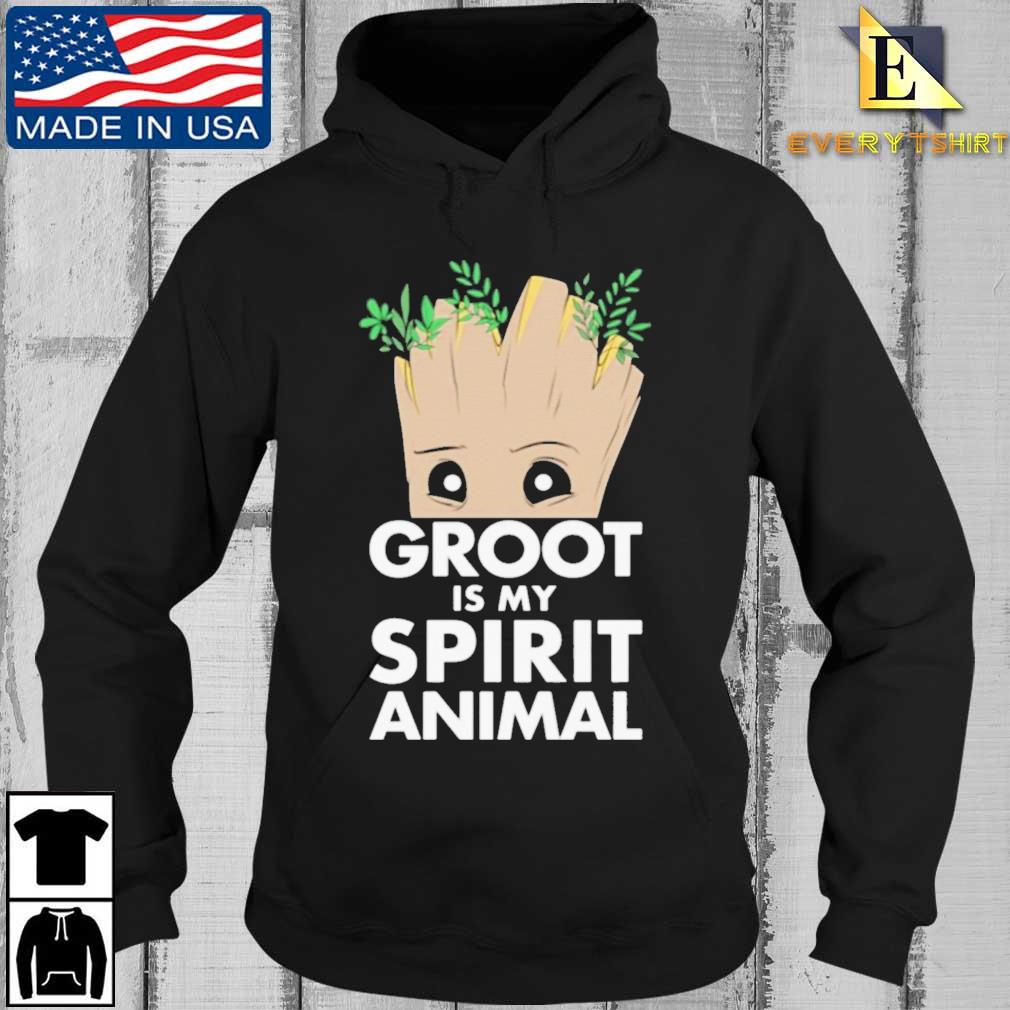 Baby Groot is my spirit animal s Every Hoodie den