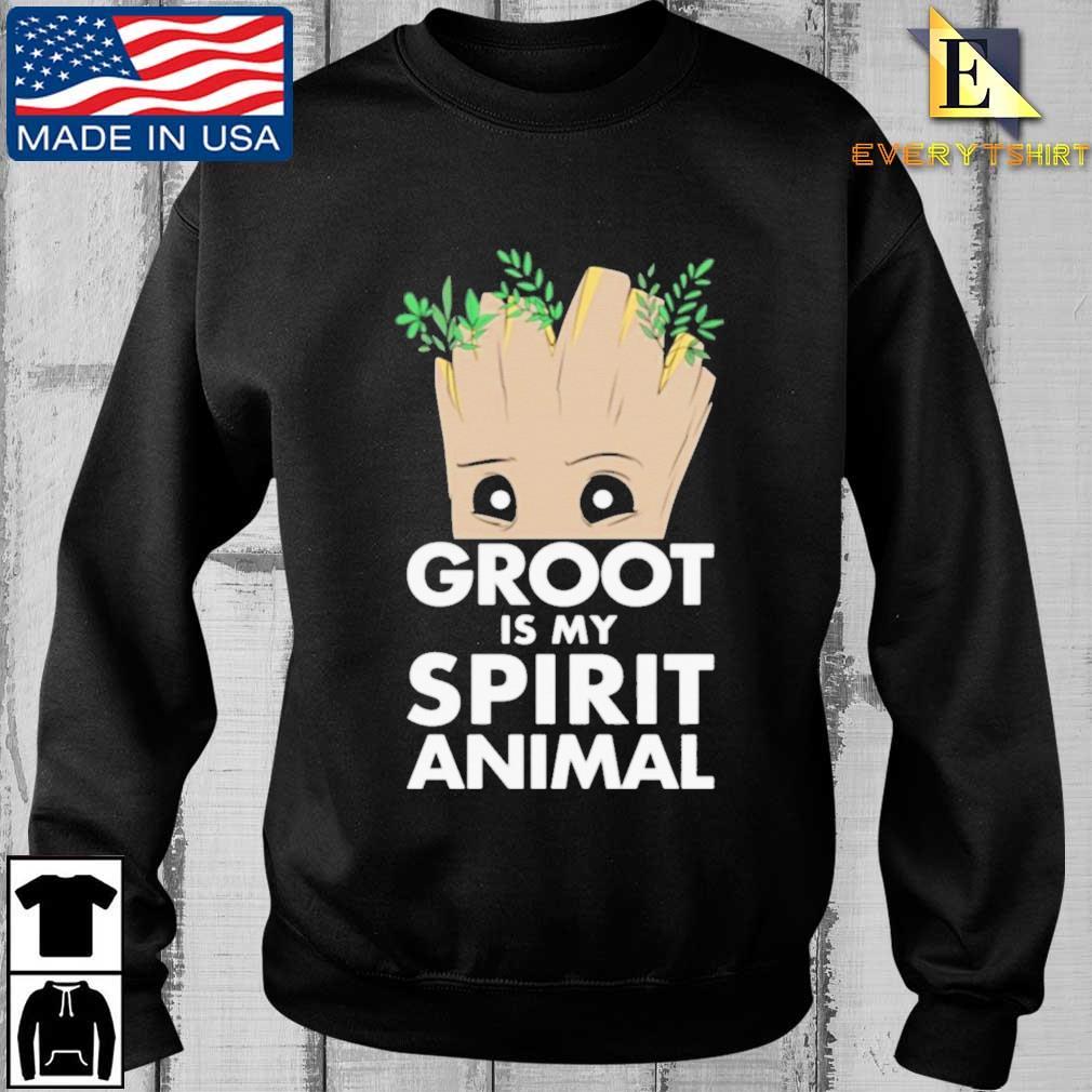 Baby Groot is my spirit animal shirt