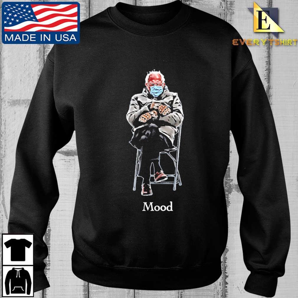 Bernie inauguration mittens meme #Mood2021 T-Shirt