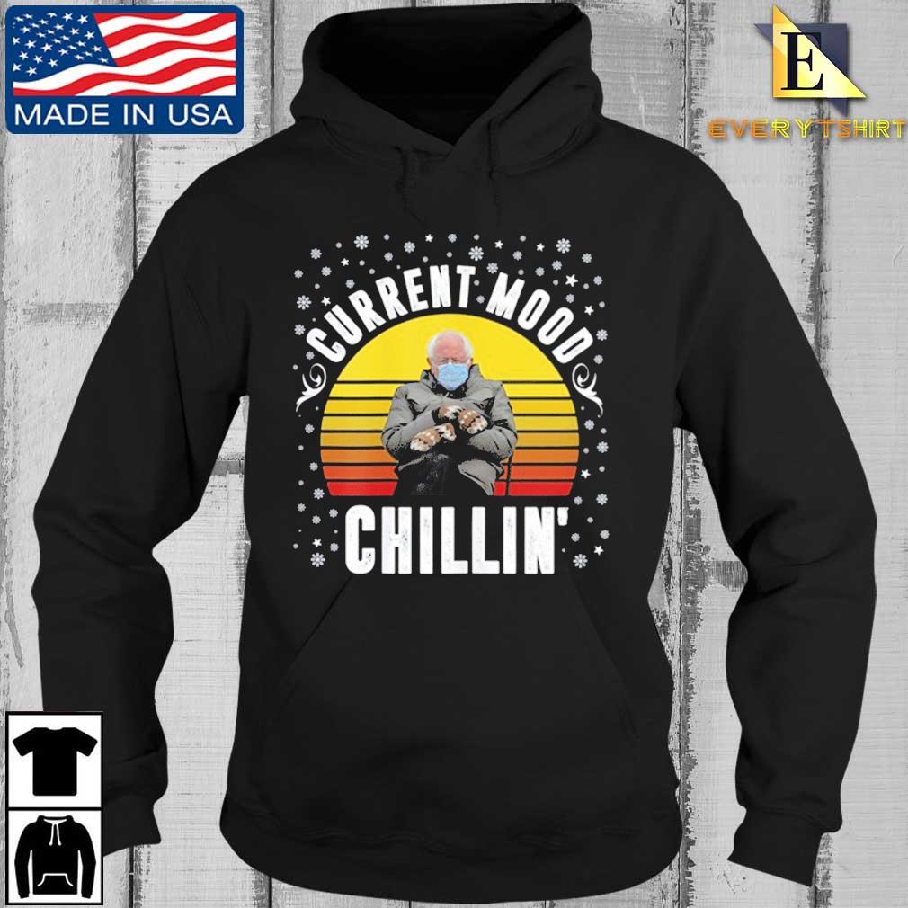 Bernie Sanders Current Mood Chillin' vintage sunset t-s Every Hoodie den