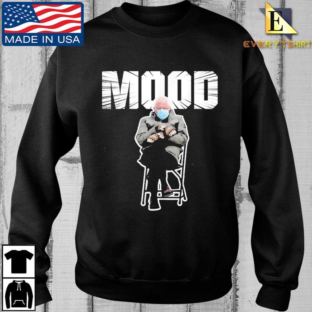 Bernie Sanders Gloves Mittens Bad Mood 2021 Shirt