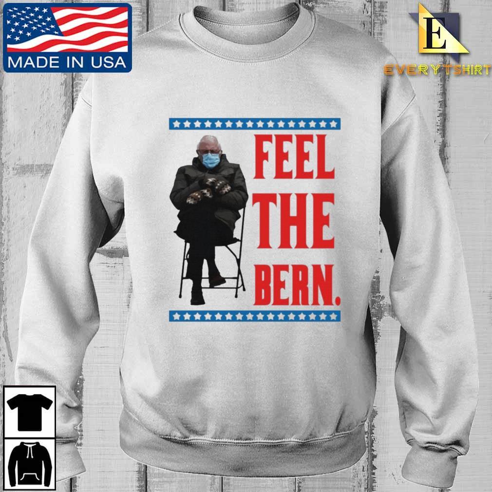 Bernie Sanders Meme Feel the Bern Tee Shirt