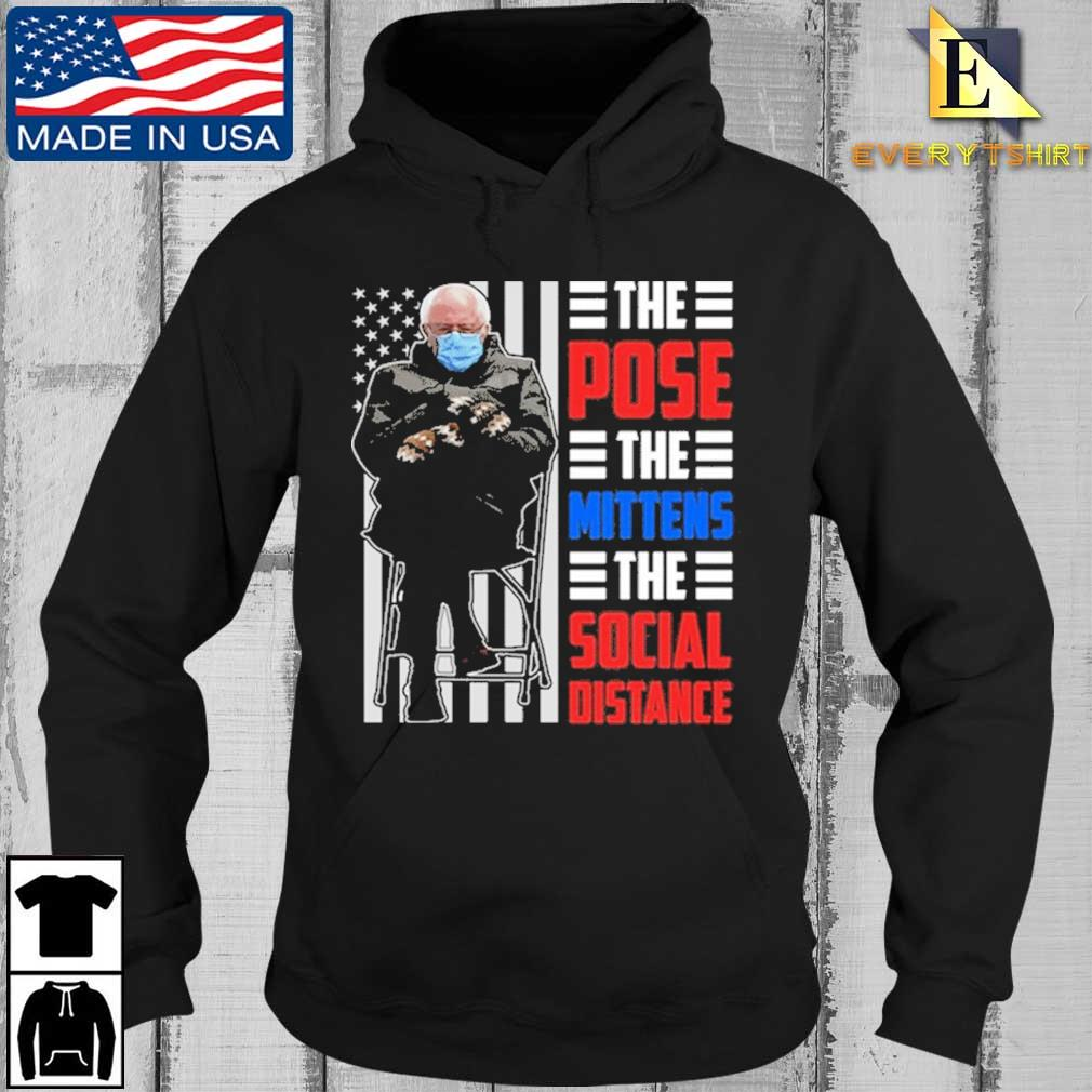 Bernie Sanders the pose the mittens the social distance s Every Hoodie den