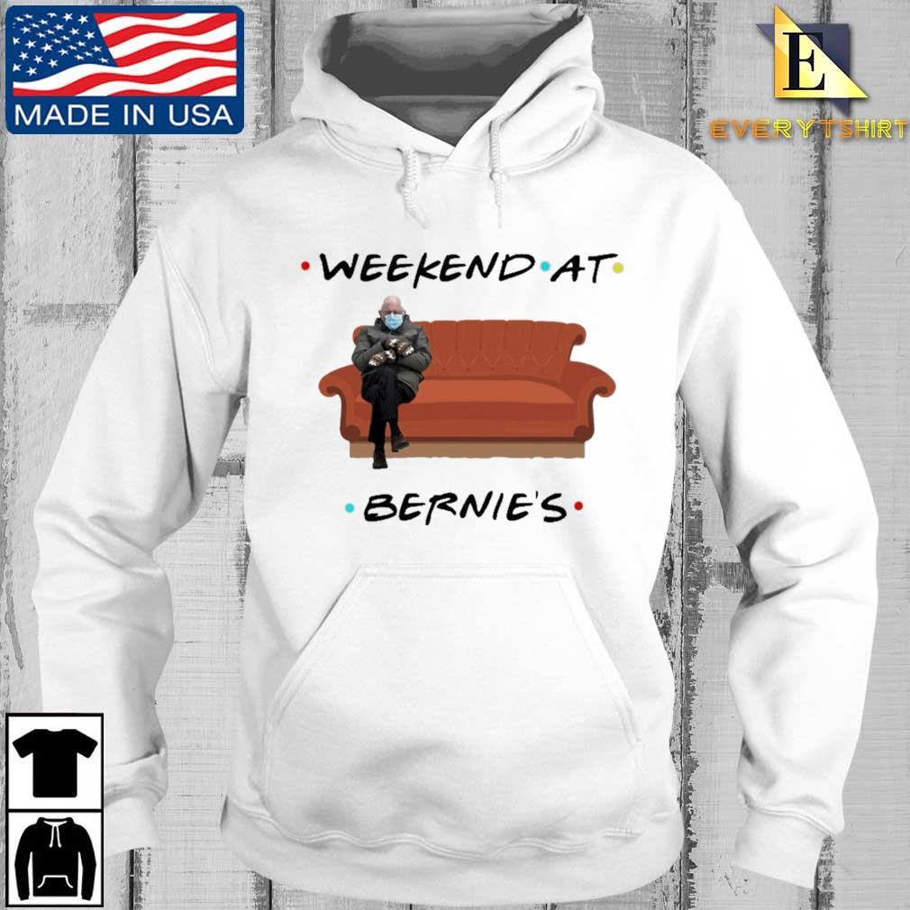 Bernie Sanders weekend at bernie's s Every hoodie trang